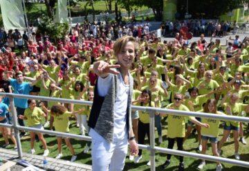 Matteo Markus Bok eroberte den ZDF-Fernsehgarten