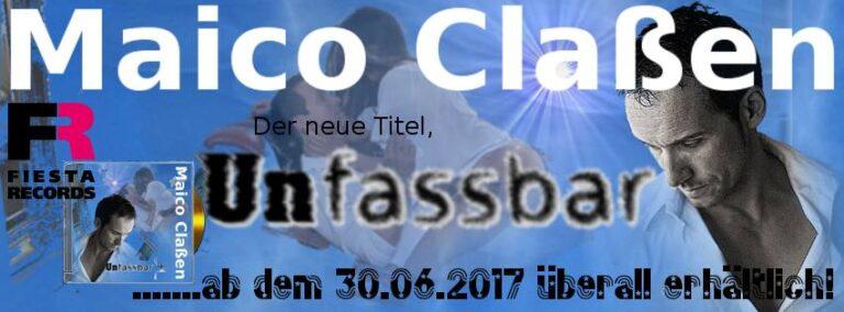 """""""Unfassbar"""" – Maico Claßen mit seinem neuen Song"""