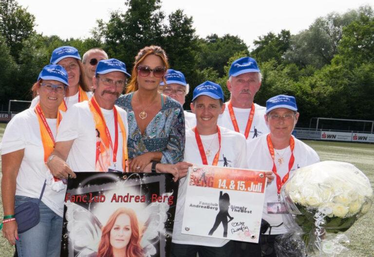 Andrea Berg und ihre Fans: Ein Heimspiel!