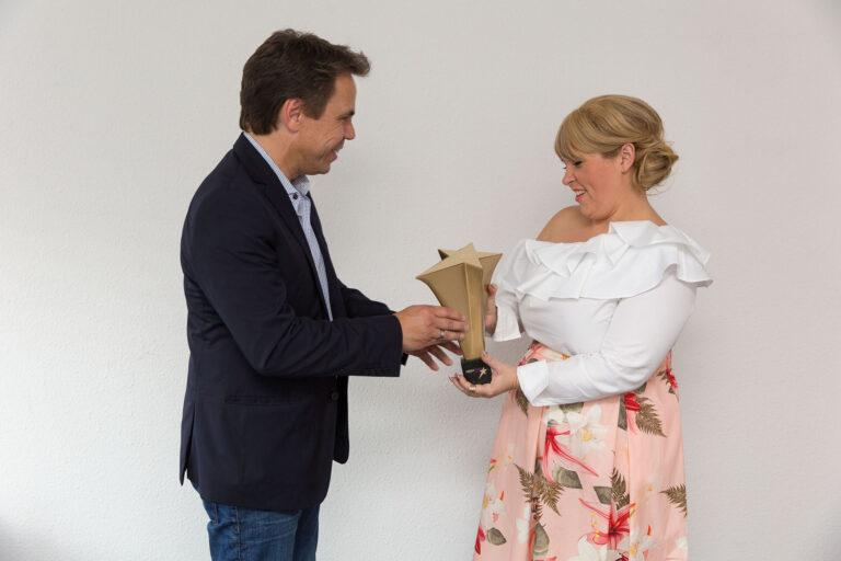 """Die Preisträger des """"Mein Star des Jahres"""" sagen DANKE"""