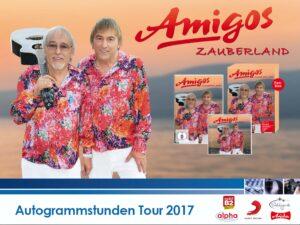 Alle Infos zur Autogrammstunden-Tour der Amigos