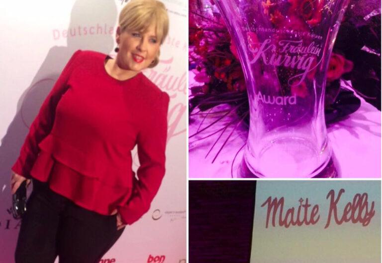 Maite Kelly erhält Fräulein Kurvig Award