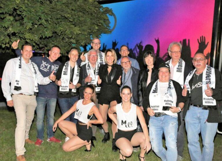1. Fanclubtreffen von Madeline Willers beim Open-Air-Konzert in Wüstenrot