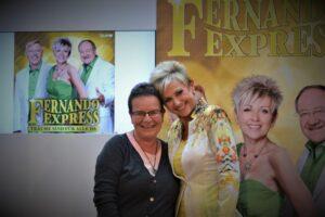 "Kiki mit Heidi vom ""Fernando Express"""