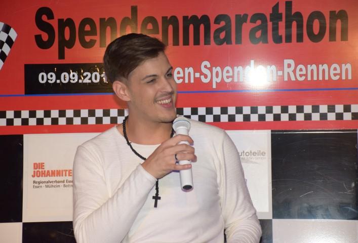 Max Weyers beim RTL Charity-Kartrennen!
