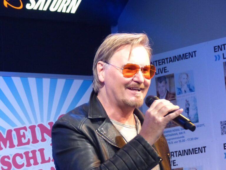 Nik P. erhält Spezial-Award für eine Million verkaufte Tonträger