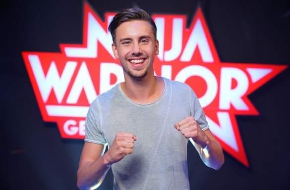Beinahe ein Ninja Warrior, in jedem Fall ein Feuerherz: Sebastian Wurth!