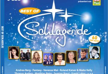 Schlager.de veröffentlicht mit Sony Music & ALDI Nord exklusive CD-Box