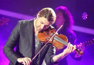 Bandscheibenvorfall zwingt David Garrett zu Konzertabsagen