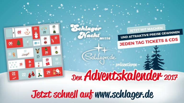 Schlager.de und Semmel Concerts bringen gemeinsamen Adventskalender