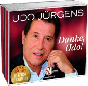 """""""Danke Udo!"""" - CD-Box"""