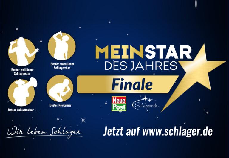 """""""Mein Star des Jahres"""" – Finale hat begonnen!"""