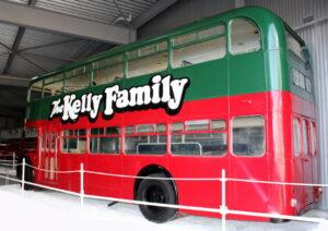 Dieser Bus war ein Markenzeichen der Kelly Family