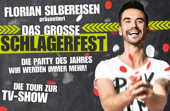 Die Party des Jahres 2018 startet Anfang April mit Florian Silbereisen