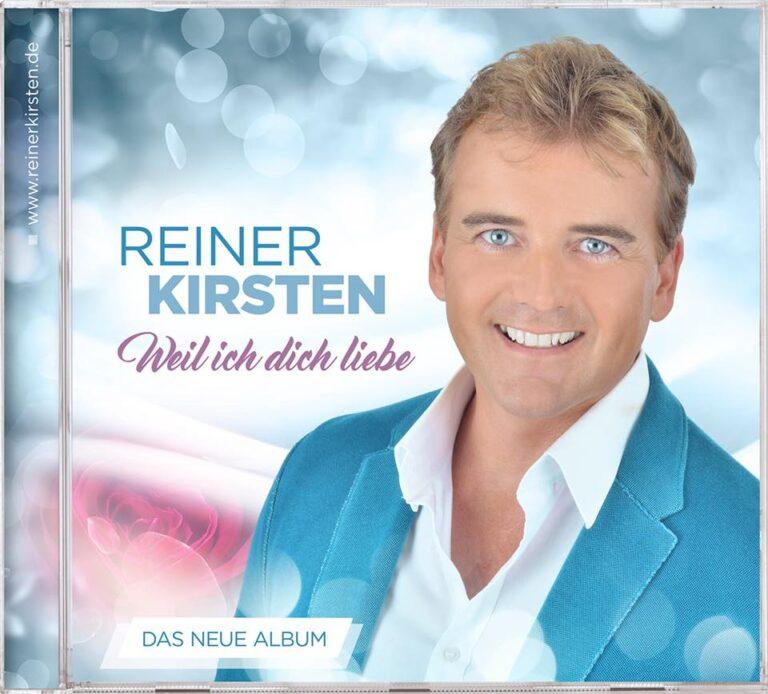 """""""Weil ich dich liebe"""" – das neue Album von Reiner Kirsten"""