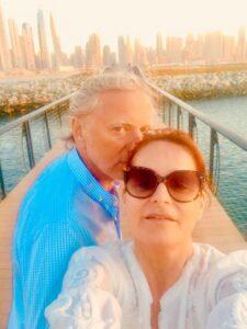 Andrea Berg und Ehemann Uli Ferber grüßen aus dem Urlaub