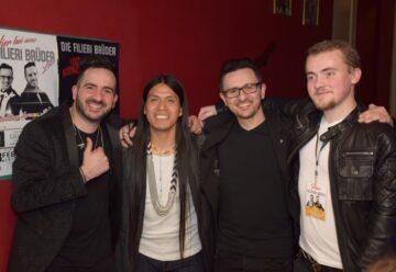 Die Filieri Brüder und Leo Rojas beim Konzert – mit Heiratsantrag!