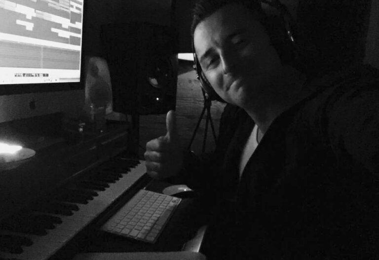 Andreas Gabalier tüftelt im Tonstudio an neuen Songs