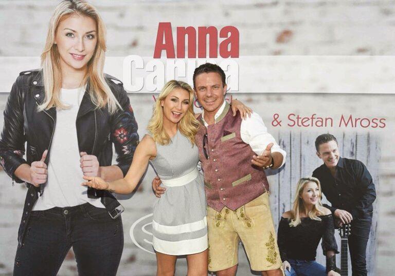 Stefan Mross und Anna-Carina Woitschack live bei Schlager.de!