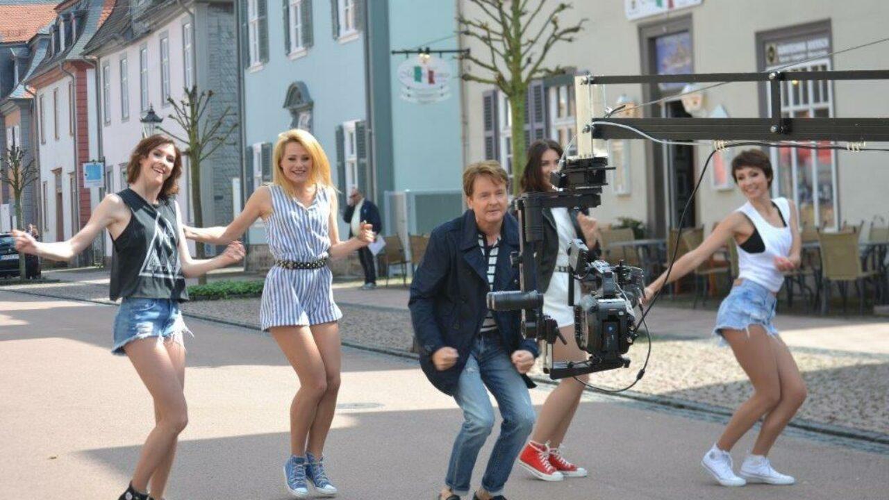 Flashmob In Bad Arolsen Zur Neuen Single Von Uwe Busse Schlager De