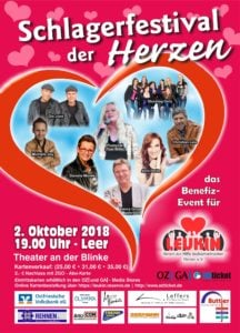 Plakat Schlagerfestival der Herzen