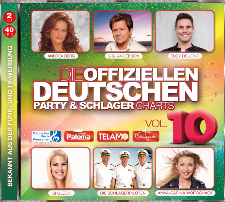 40 Hits der Offiziellen Deutschen Party & Schlager Charts!