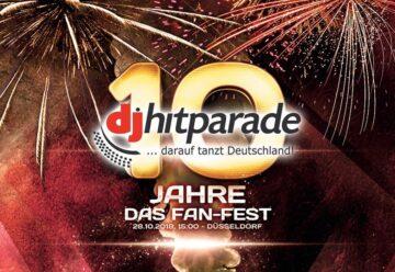 Live aus Düsseldorf: Das Fan-Fest der dj-hitparade