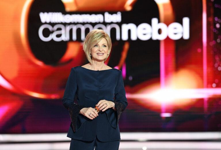 """Carmen Nebel: """"Hin und wieder würde ich mich gerne wegducken"""""""