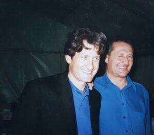 Andreas Fulterer und Bruder Hans