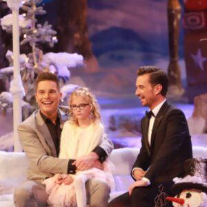 Eloy de Jong mit seiner Tochter