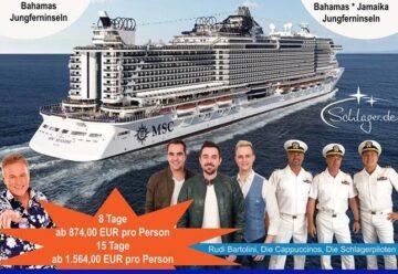 2020! Mit dem Schlager-Kreuzfahrtschiff in die Karibik