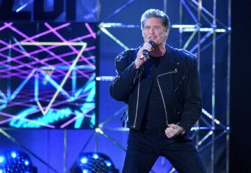 David Hasselhoff: Hai-Alarm bei Carmen Nebel!