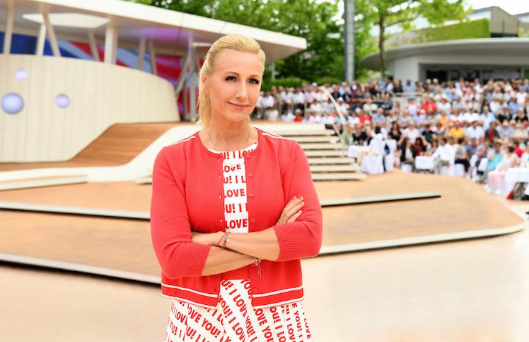 """Andrea Kiewel: Standpauke für vier """"Fernsehgarten""""-Zuschauer"""
