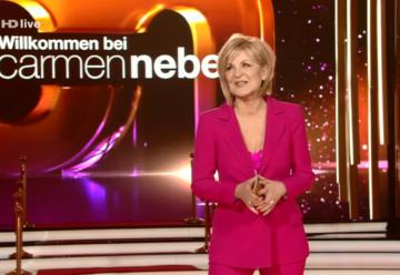 Carmen Nebel: Traumquoten für ihr Jubiläum