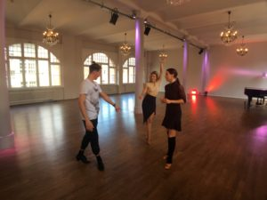 Let's Dance Proben