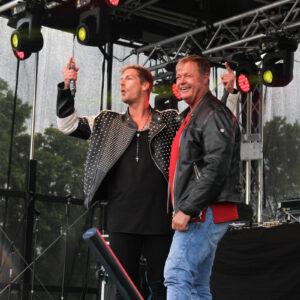 Norman Langen mit Papa Kalle