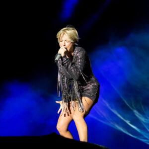 Michelle beim Ostalb-Festival