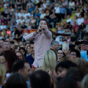 Vincent Gross beim Ostalb-Festival