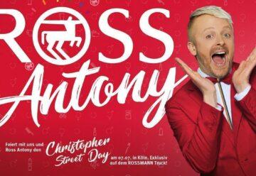 """Für einen Tag: Rossmann wird zu """"RossAntony""""!"""