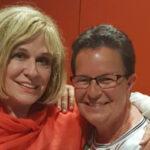 Mary Roos mit Schlager.de-Redakteurin Kiki