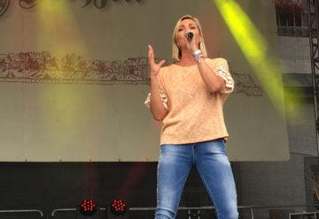 Tanja Lasch: Gefeierter Hochzeitsgast!