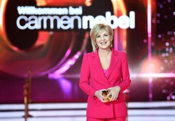 Carmen Nebel: Diese Gäste kommen morgen in ihre Show