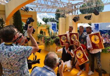 Große Ehre: Gold für die Grubertaler & Anna-Carina Woitschack!