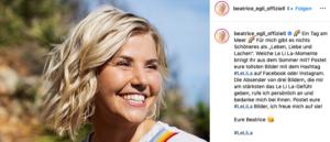 Beatrice Egli Instagram Screenshot