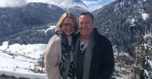 Roland Kaiser mit seiner Ehefrau Silvia