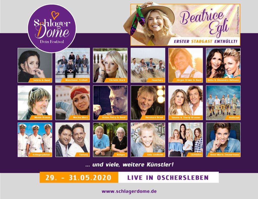 Schlagerdome 2020 Line-Up