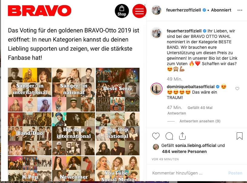 Screenshot-Feuerherz-Instagram-Bravo-Otto