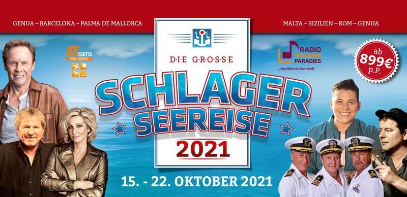 Die große Schlager-Seereise 2021