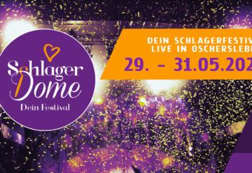 Schlager.de präsentiert: Schlagerdome 2020! Das Schlager-Festival mit Euren Stars!