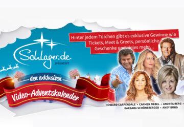 Exklusive Star-Gewinne beim Schlager.de-Adventskalender 2019